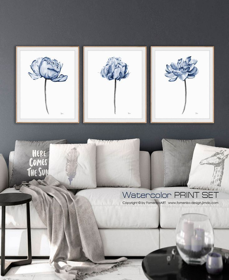 Peony Print Bathroom Wall Decor Living Room Decor Dining Room Etsy Blue Wall Art Navy Blue Wall Art Art Above Bed,Simple South Indian Baby Shower Decorations
