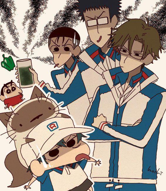 từ conan one piece tới dragon ball đều hoa shin cậu be but chi qua bộ fan art vui nhộn dragon one piece anime