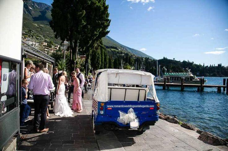 Romantic Weddings on Lake Garda | Wedding planners for the most romantic Lake Garda weddings in Italy. Lake side party.