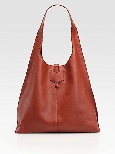 Yves Saint Laurent - YSL Leather Hobo Bag - Saks.com   Cartera ...