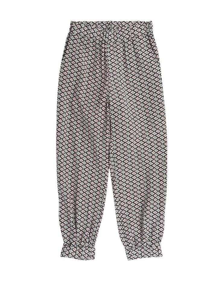 Elasticised Print Pants