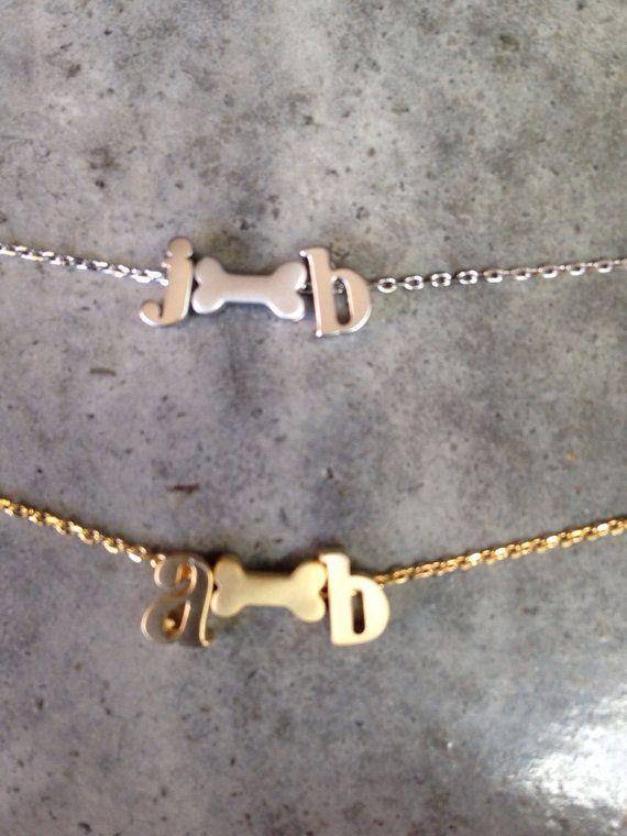 Personalizzati collana dell'animale domestico di BijouLimon