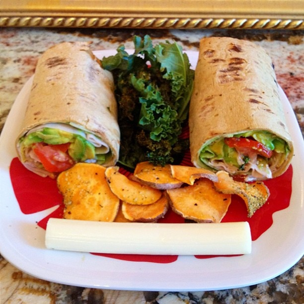 61 best wraps images on pinterest chicken quesadillas Cooking turkey split in half