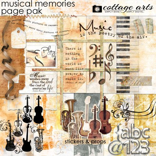 Musical Memories By Cottage Arts