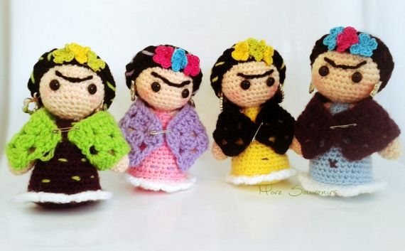 Mini Frida - Crochet - Tejidos de Punto - 798096