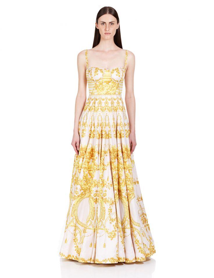 Falguni Shane Peacock - Dandelion Gold Gown