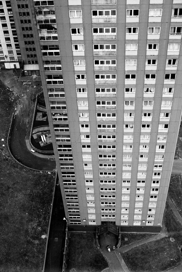 RED ROAD FLATS | BALORNOCK | GLASGOW | SCOTLAND: *Built: 1964-1969; Demolished: Phased demolition programme between 2012 & October 2015; Architect: Sam Bunton* Photo: Tom Manley