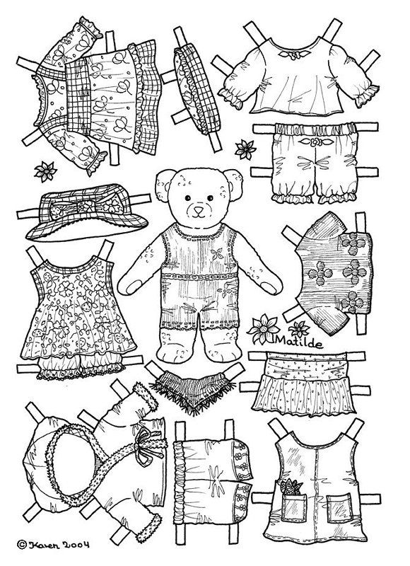 2326 best images about paper dolls on pinterest paper dolls the twenties and twin. Black Bedroom Furniture Sets. Home Design Ideas