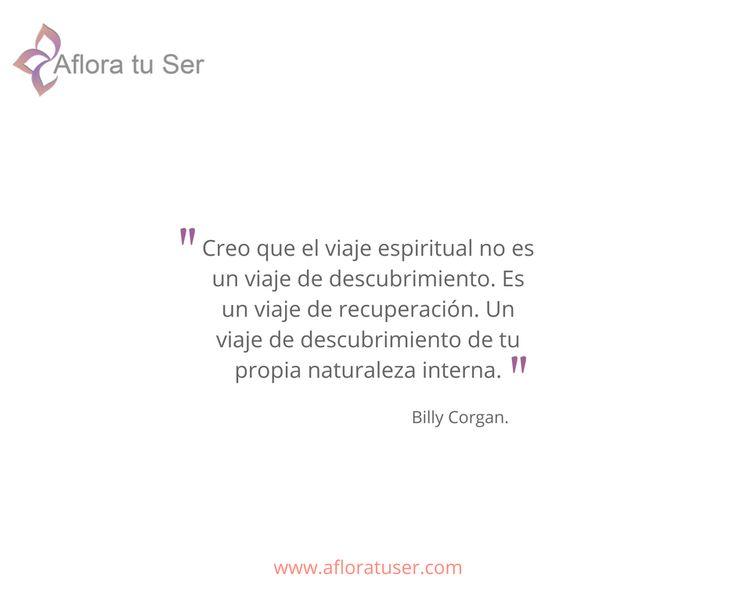 Frases - Creo que el viaje espiritual no es un viaje de descubrimiento. Es un viaje de recuperación.