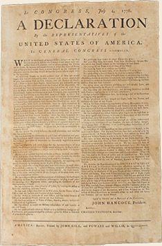 Originál kopie Deklarace nezávislosti USA z roku 1776 v ceně 4 mil. dolarů k vidění na výstavě www.flowing-hair.cz #narodnimuzeum #narodnipokladnice #mostexpensivecoin