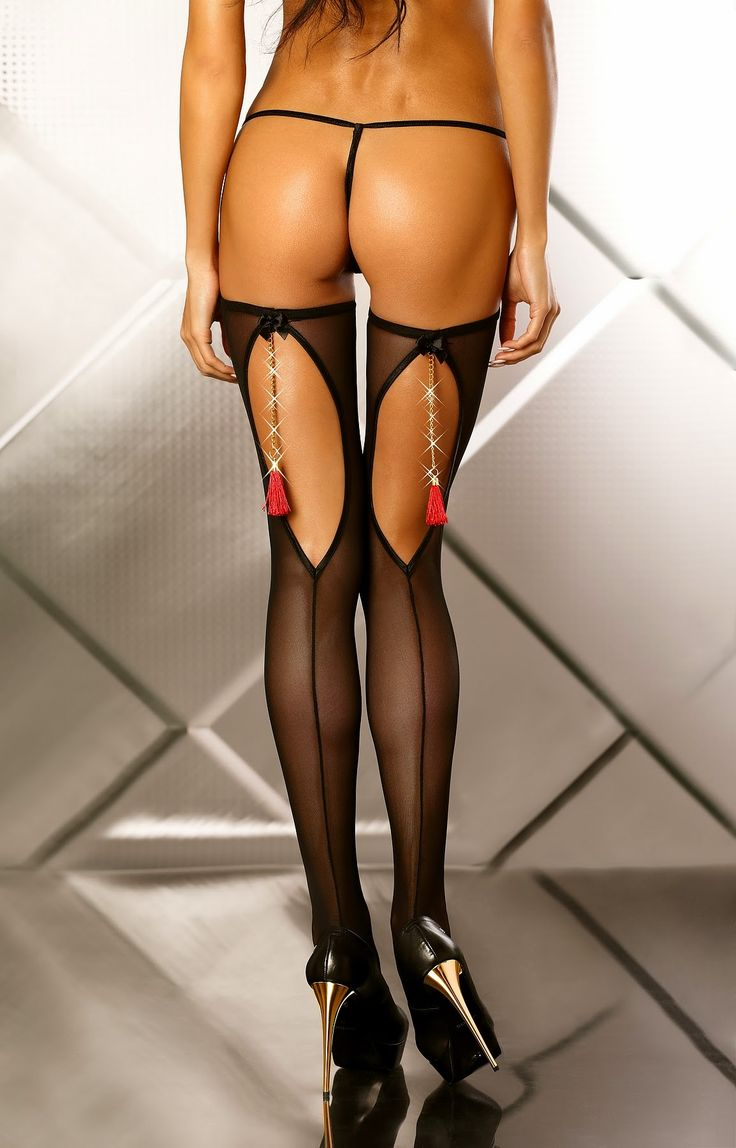 Lolitta - Boudoir Stockings pończochy