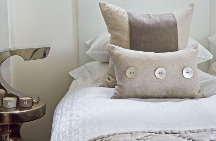 Kelly Hoppen - Monogram Bed Linen  http://www.kellyhoppen.com/bedroom/bed-linen/bed-linen-collections/monogram-bed-linen
