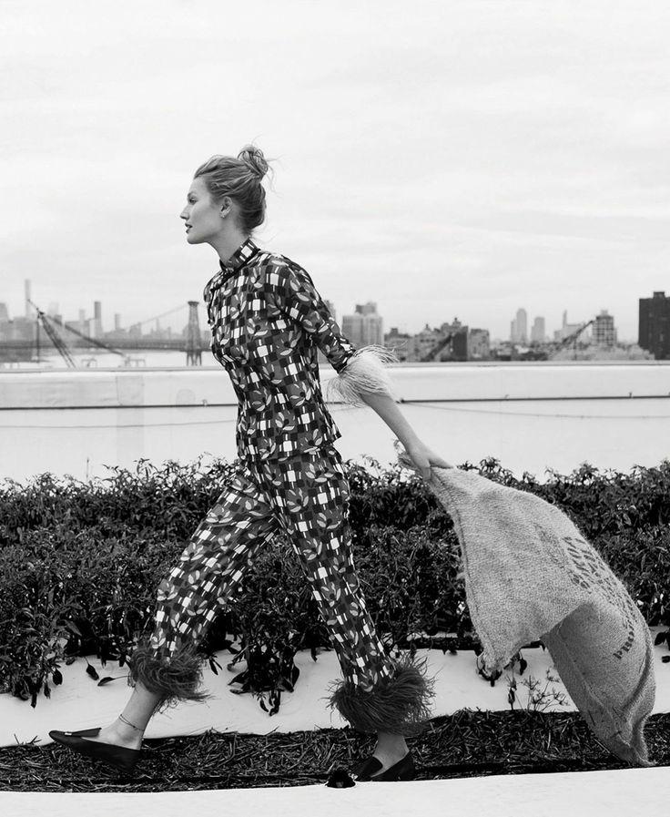 Marie Claire April 2017 Toni Garrn by Adam Franzino