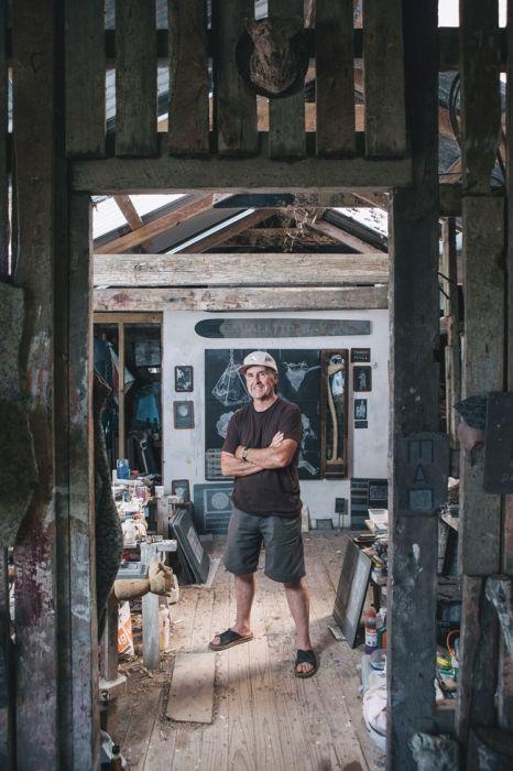 denis oconnor in his studio