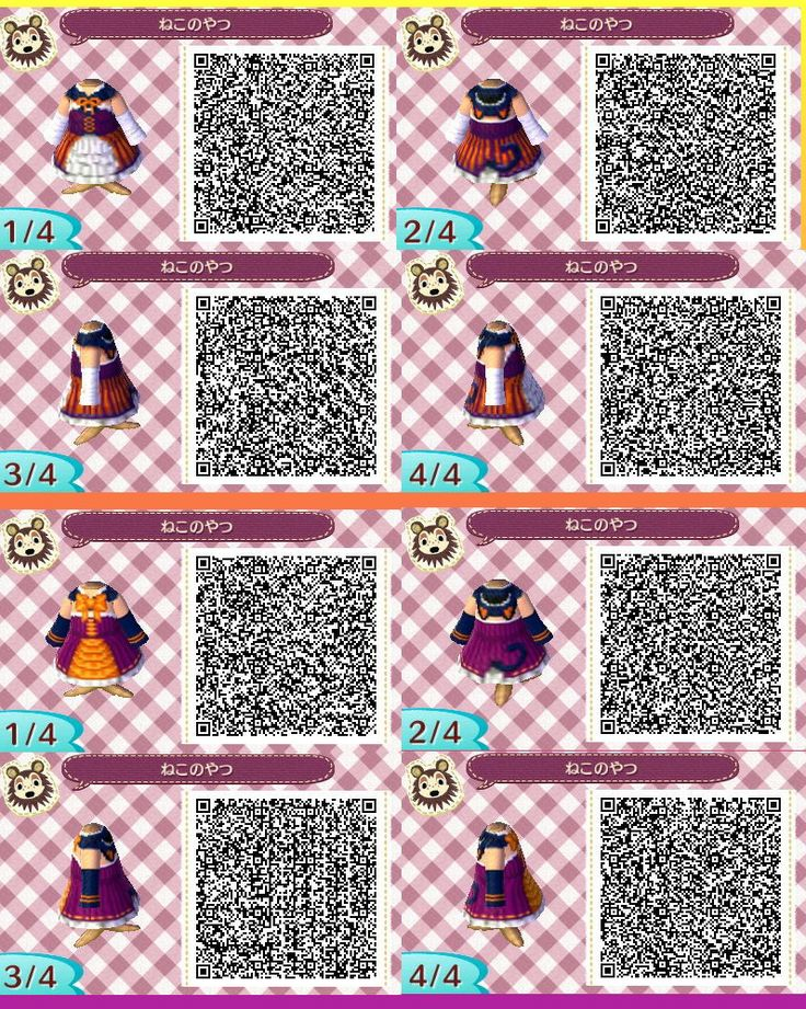 17 best images about acnl halloween qr codes on for Floor qr codes new leaf