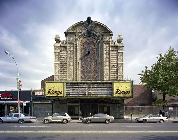 Loew's Kings Theatre, Brooklyn, NY. Photo courtesy of Yves Marchand and Romain Meffre (MarchandMeffre) via Flavorwire