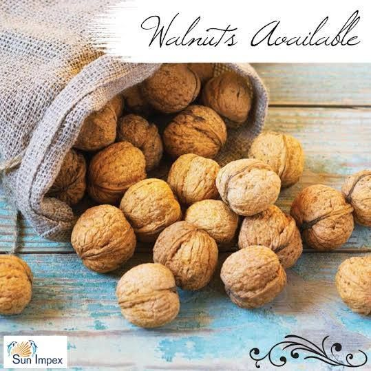 !!!!! WALNUTS !!!!! Walnuts are rounded, single-seeded stone fruits of the walnut tree. The walnut fruit is enclosed in a green, leathery and fleshy husk. At Sun Impex we offer walnuts sourced from USA, Ukraine, India and Moldova. Walnut is used in different industries and is also mixed in snack products as well.  To get the same, visit : http://bit.ly/Nuts_Walnuts