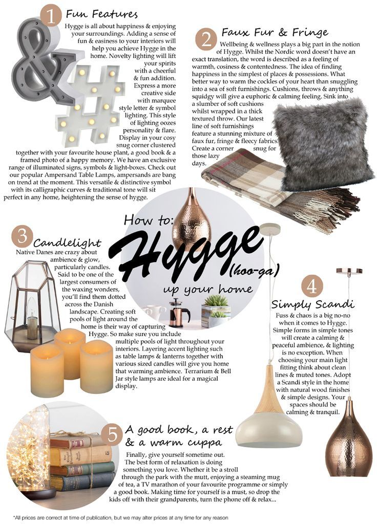 How to Hygge up your home