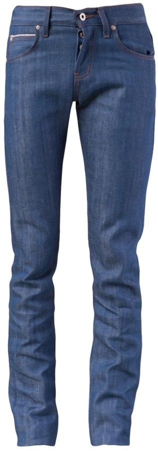 Blue Skinny Jeans by Naked & Famous. Buy for $160 from farfetch.com