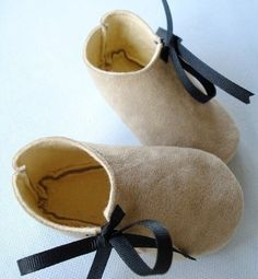 leather baby boots pattern free - Google Search