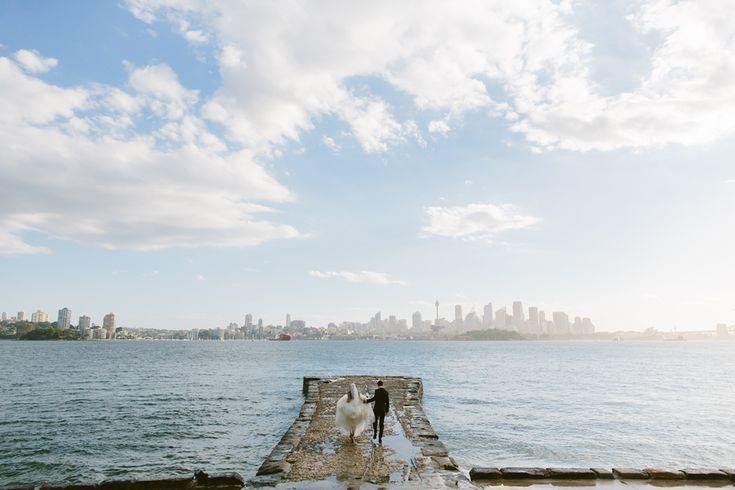 Sydney wedding photography Bradleys Head Mosman. Image: Cavanagh Photography http://cavanaghphotography.com.au
