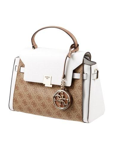 GUESS Handtasche mit abnehmbarem Schulterriemen in Braun online kaufen (9572973) » P&C AT Online Shop