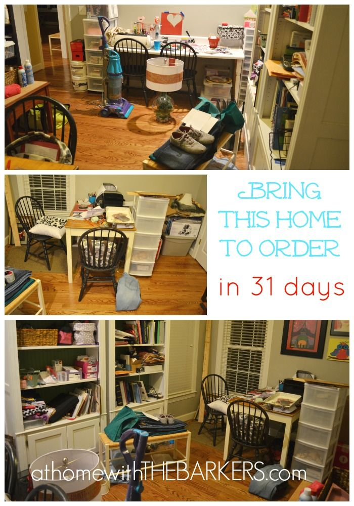 Organizational help - Bring My Home in Order - 31 Days Big Project Plans Day 3 - This blogger takes you down 31 days of her projects and plans to organize her home.  Take heed in her concepts and apply them!  some are sooo simple.. its just a matter of get up and do it!