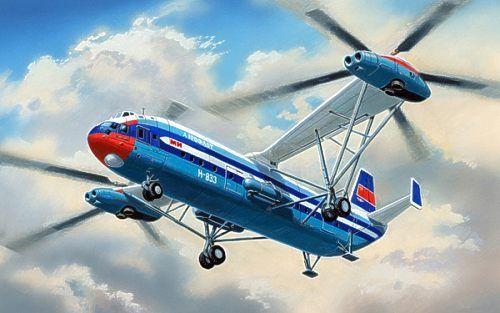 "Mil Mi-12 / B-12 ""Homer"". A Model, 1/72, injection, No.AMU72018. Price: 238,99 GBP."