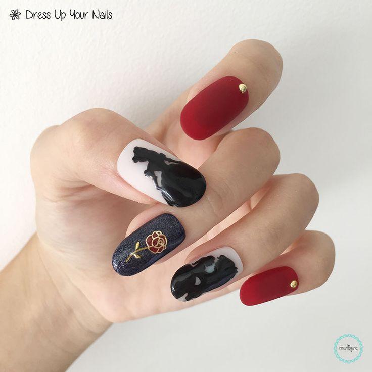 Disney Princess Nails: 17 Best Disney Princess Nails Images On Pinterest