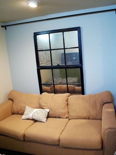391 Best Images About Our Little Home On Pinterest: fake window for basement