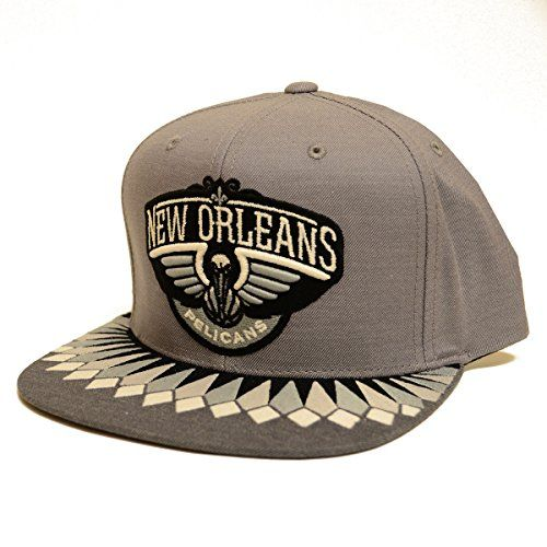 Mitchell  Ness Mens NBA Variant Snapback One Size New Orleans Pelicans *** Click image for more details.