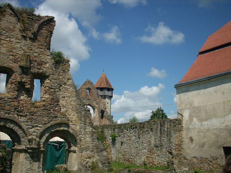 Cistercian monastery in Cârţa,