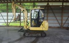 KOMATSU PC27R-2 SPEED MINI EXCAVATOR  DOZER RUBBER TRACKS BOB CAT BACKHOE  apply to finance www.bncfin.com/apply excavators for sale - excavator financing