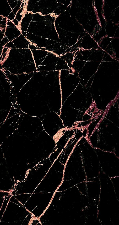Schwarz mit Roségold-Textur Más – #background #M… – #Background #fondos #mas…