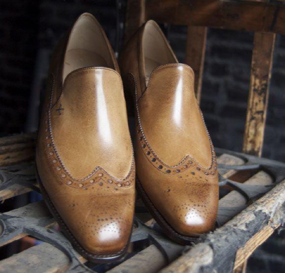 Barker Black Shoes 9