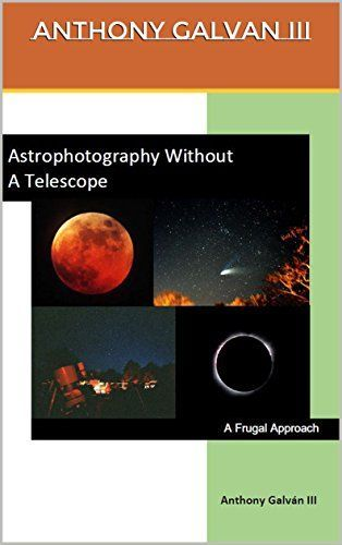 Imaging the night time sky has gotten easier with digital cameras. This book describes the basic camera types and processes to take pictures of celestial events and objects such as the moon the sun ...