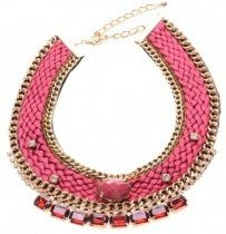 Musthave, musthave.. Rode Ibiza statement ketting!