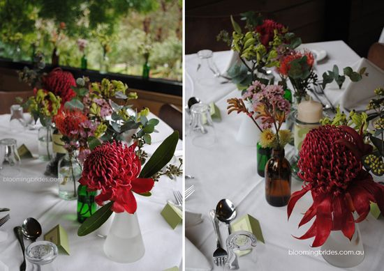 Native flowers for you table settings!