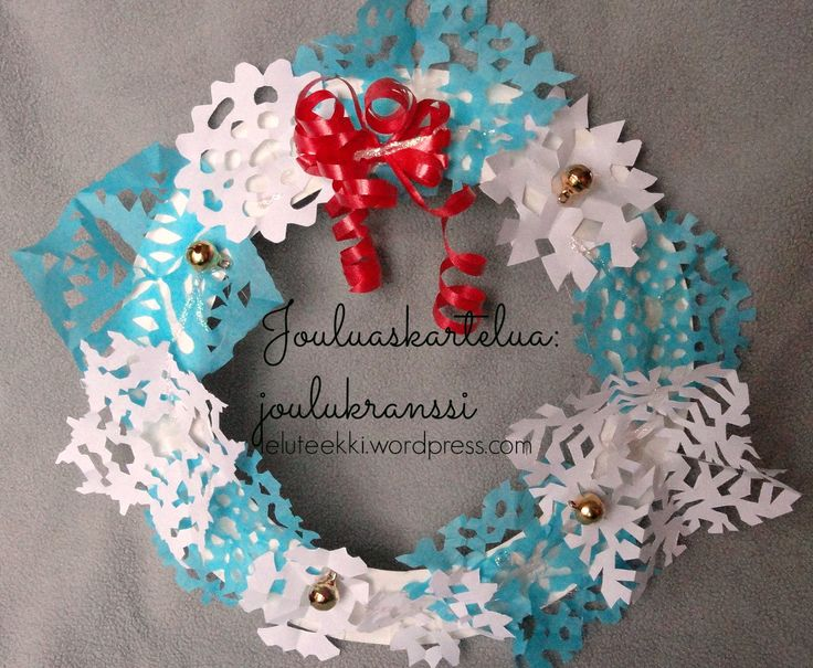 Jouluaskarteluja: joulukranssi  http://blogi.leluteekki.fi