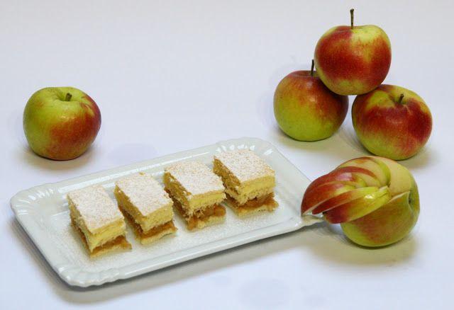 Mni receptgyűjteménye: Almás mézes krémes