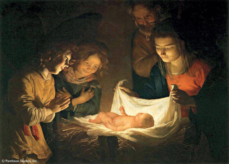 Gerard Van Honthorst - Adortion of a Child (1630s)