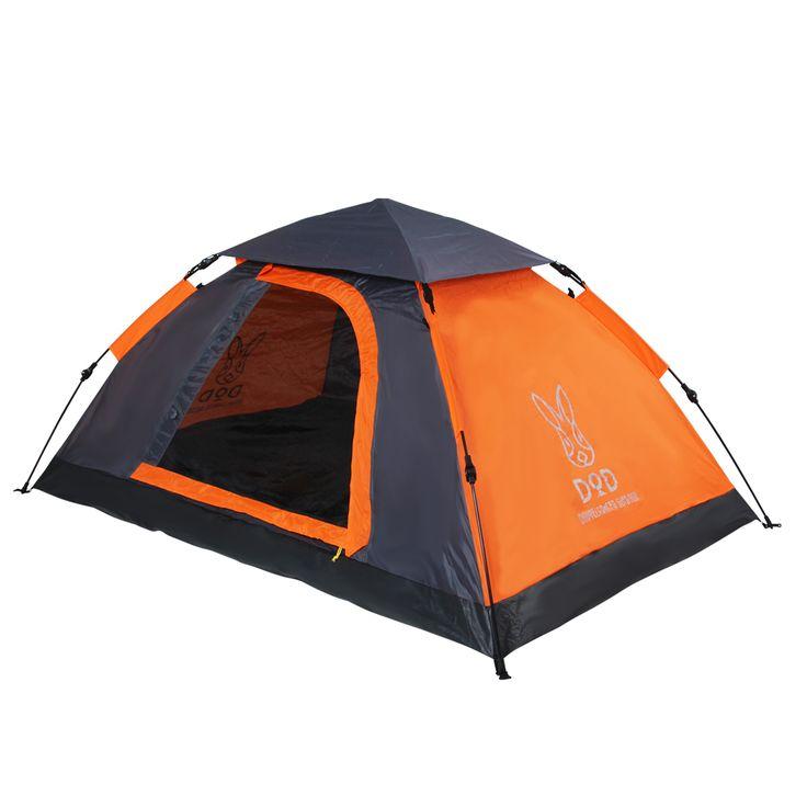 DOPPELGANGER OUTDOOR (ドッペルギャンガーアウトドア) 略してDOD。T2-29 約15秒の簡単設営!軽量・コンパクトな2人用ワンタッチテント。 #キャンプ #アウトドア #テント #タープ #チェア #テーブル #ランタン #寝袋 #グランピング #DIY #BBQ #DOD #ドッペルギャンガー