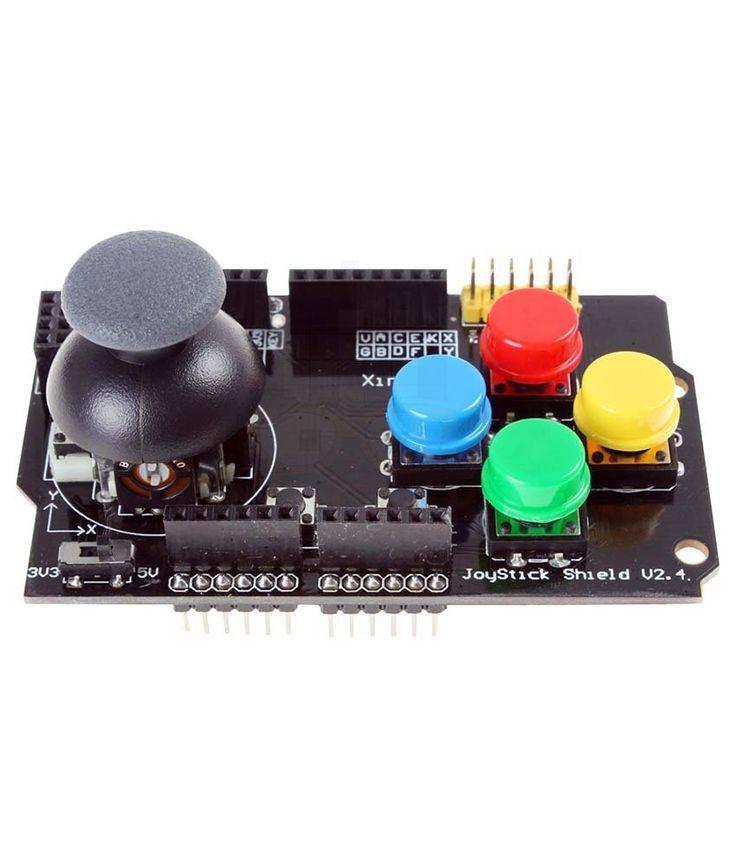 Arduino - Game JoyStick Shield - interfejs użytkownika