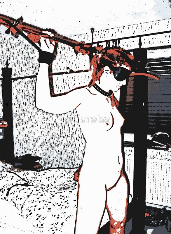 NSFW bondage redhead girl in room • Also Available as T-Shirts & Hoodies, Men's Apparels, Women's Apparels, Stickers, iPhone Cases, Samsung Galaxy Cases, Posters, Home Decors, Tote Bags, Pouches, Prints, Cards, Mini Skirts, Scarves, iPad Cases, Laptop Skins, Drawstring Bags, Laptop Sleeves, and Stationeries #erotic #fetish #art #sexy #girls #print #photo #dirty #adult #mature #sketch #poster #drawing #dirty #nude