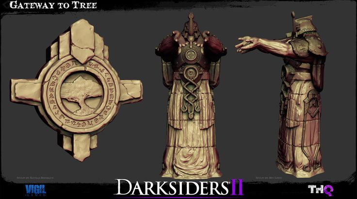 Darksiders 2 Environment Art