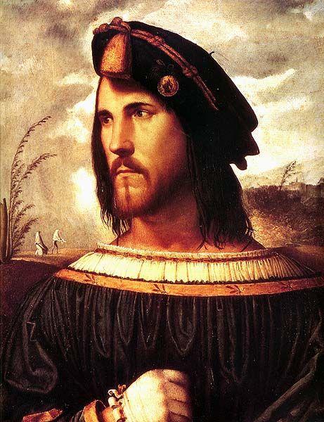Cesare Borgia by Menone?