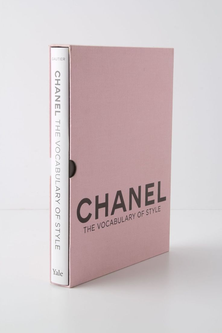 Chanel: The Vocabulary of Style...For when I cease shopping at Plato's Closet.