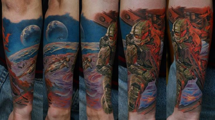9 Amazing Video Game Tattoos by Ink Done Right