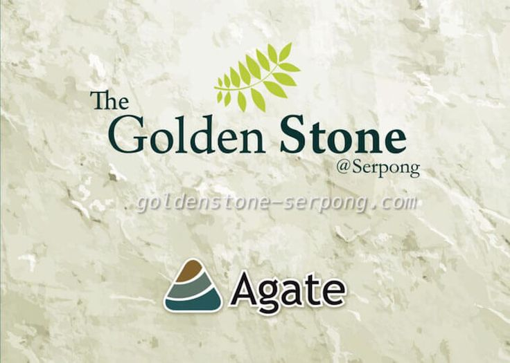 Brosur The Golden Stone @ Serpong #goldenstoneserpong