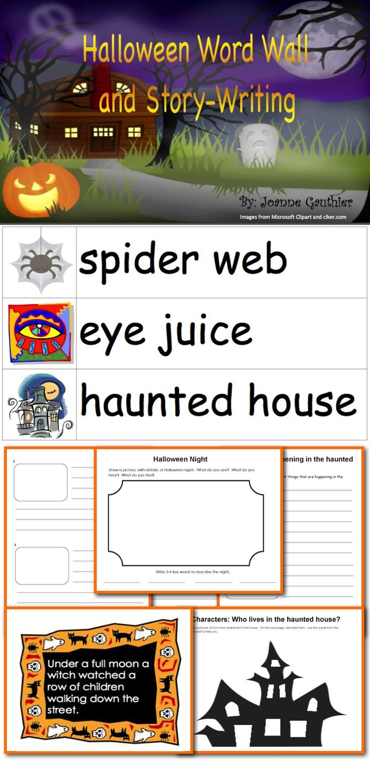 1000 ideas about halloween stories halloween halloween word wall and story writing